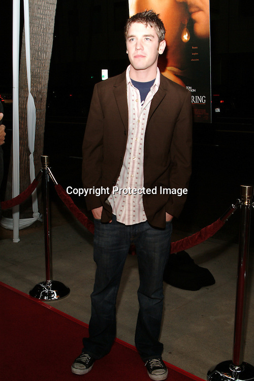 Bret Harrison <br />GIRL WITH A PEARL EARRING   Los Angeles Premiere<br />The Academy of Motion Pictures Arts &amp; Sciences, Samuel Goldwyn Theatre<br />Beverly Hills, CA, USA<br />Wednesday, December 10th, 2003    <br />Photo By Celebrityvibe.com/Photovibe.com