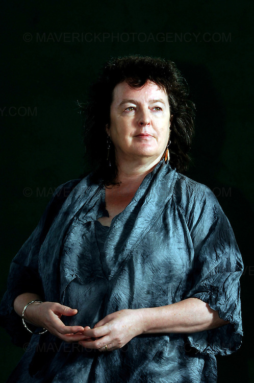 EDINBURGH, UK - 14th August 2010: Author coverage of The Edinburgh International Book Festival 2010 at Charlotte Square in Edinburgh...Picture shows Poet Laureate Carol Ann Duffy  ..(Photograph: Richard Scott/MAVERICK)