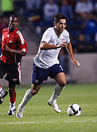 Clint Dempsey (8). The U.S. Men's National Team defeated Trinidad & Tobago 3-0 at Toyota Park in Bridgeview, IL on September 10, 2008.