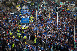 Brighton & Hove Albion open top bus parade - Mandatory by-line: Jason Brown/JMP - 14/05/17 - FOOTBALL - Brighton and Hove Albion, Sky Bet Championship 2017 - Brighton and Hove Albion Promotion Parade