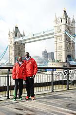 London Marathon photo-call