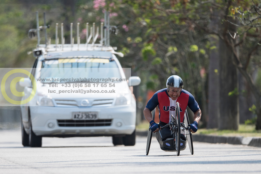 SANCHEZ Oscar, USA, H5, Cycling, Time-Trial at Rio 2016 Paralympic Games, Brazil