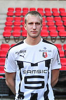 Edvinas Gertmonas - 15.09.2015 - Photo officielle Rennes - Ligue 1 2015/2016<br /> Photo : Philippe Le Brech / Icon Sport