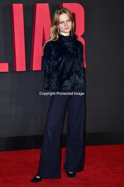 Nell Williams Arrivers at World Premiere of The Good Liar on 28 October 2019, at the BFI Southbank, London, UK.