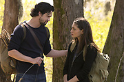 "The Originals -- ""Fire With Fire"" -- Image Number: OR221b_0094.jpg -- Pictured (L-R): Nathan Parsons as Jackson and Phoebe Tonkin as Hayley -- Photo: Jace Downs/The CW -- © 2015 The CW Network, LLC. All rights reserved."