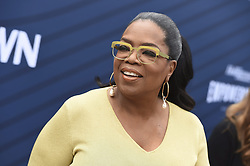 April 30, 2019 - Los Angeles, CA, United States - Oprah Winfrey arrives at THR's Empowerment in Entertainment Gala at Milk Studios on Tuesday, April 30, 2019, in Los Angeles. Oprah Winfrey is stepping aside to make way for the Toronto Raptors. (Credit Image: © Jordan Strauss/The Canadian Press via ZUMA Press)