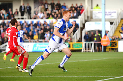 Rory Gaffney celebrates scoring a goal - Mandatory by-line: Dougie Allward/JMP - 09/09/2017 - FOOTBALL - Memorial Stadium - Bristol, England - Bristol Rovers v Walsall - Sky Bet League One
