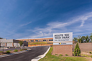 Baltimore Office building exterior image of Route 100 Tech Park by Jeffrey Sauers of Commercial Photographics, Architectural Photo Artistry in Washington DC, Virginia to Florida and PA to New England