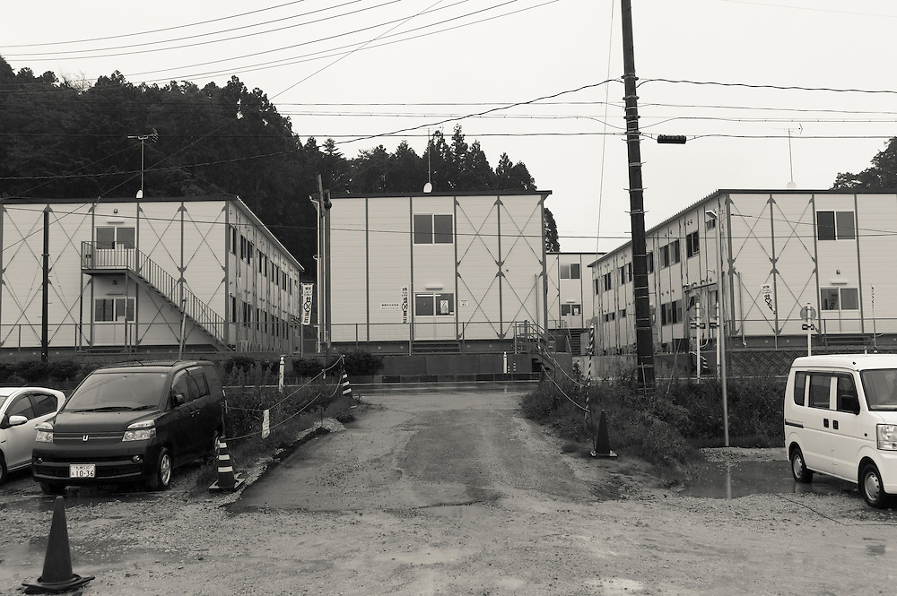 Decontamination Workers housing  Naraha Japan