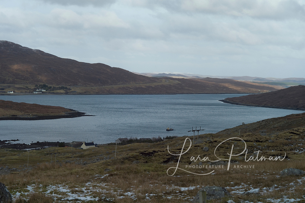 scenes along the route to Isle of Lewis from Isle of Harris