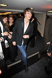 TARA FERRY at Quintessentially's 10th birthday party held at The Savoy Hotel, London on 13th December 2010.