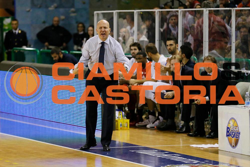 DESCRIZIONE : Casale Monferrato Lega A 2013-14 Cimberio Varese Grissin Bon Reggio Emilia<br /> GIOCATORE : Massimiliano Menetti<br /> CATEGORIA : Ritratto<br /> SQUADRA : Grissin Bon Reggio Emilia<br /> EVENTO : Campionato Lega A 2013-2014<br /> GARA : Cimberio Varese Grissin Bon Reggio Emilia<br /> DATA : 13/10/2013<br /> SPORT : Pallacanestro <br /> AUTORE : Agenzia Ciamillo-Castoria/G.Cottini<br /> Galleria : Lega Basket A 2013-2014  <br /> Fotonotizia : Casale Monferrato Lega A 2013-14 Cimberio Varese Grissin Bon Reggio Emilia<br /> Predefinita :