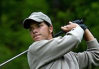 MOLENSCHOT - Rick Huiskamp.   Voorjaarswedstrijd golf 2003 op GC Toxandria. . COPYRIGHT KOEN SUYK