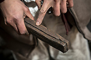 &quot;Tsukurikomi&quot;, one of many ways to add together a softer steel core with a hard steel edge. This method is called &quot;kobuse&quot;. The process is called &quot;kumiawase tanren&quot;. <br />