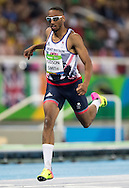 Matthew Hudson-Smith of Great Britain during Men's 100m semi-final on day eight of the XXXI 2016 Olympic Summer Games in Rio de Janeiro, Brazil.<br /> Picture by EXPA Pictures/Focus Images Ltd 07814482222<br /> 13/08/2016<br /> *** UK & IRELAND ONLY ***<br /> <br /> EXPA-GRO-160814-5235.jpg