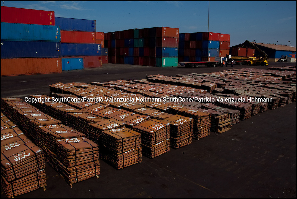 Copper is ready to be sent offshore. Green Corp. en Stock