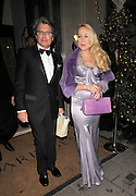 01.DECEMBER.2011. LONDON<br /> <br /> JERRY HALL AND WARWICK HEMSLEY AT THE CLARIDGE'S BALLROOM IN LONDON<br /> <br /> BYLINE: EDBIMAGEARCHIVE.COM<br /> <br /> *THIS IMAGE IS STRICTLY FOR UK NEWSPAPERS AND MAGAZINES ONLY*<br /> *FOR WORLD WIDE SALES AND WEB USE PLEASE CONTACT EDBIMAGEARCHIVE - 0208 954 5968*