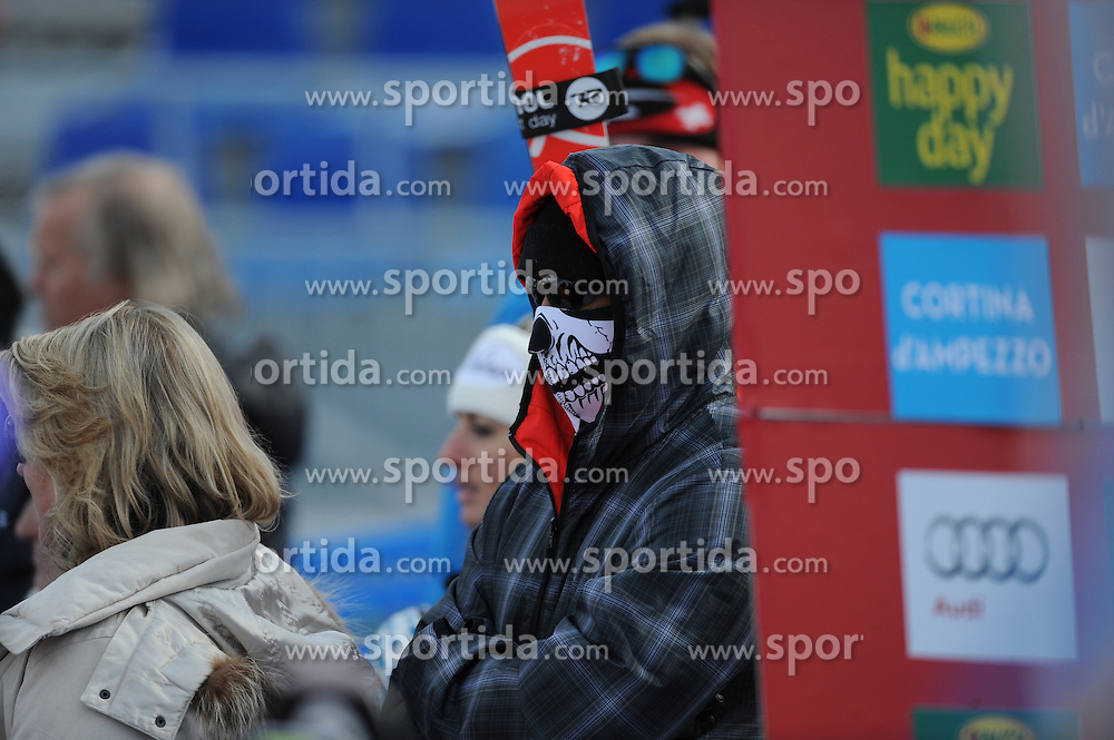 19.01.2015, Olympia delle Tofane, Cortina d Ampezzo, ITA, FIS Weltcup Ski Alpin, Super G, Damen, im Bild Tiger Woods // American golfer Tiger Woods during the ladie's SuperG of the Cortina FIS Ski Alpine World Cup at the Olympia delle Tofane course in Cortina d Ampezzo, Italy on 2015/01/19. EXPA Pictures © 2015, PhotoCredit: EXPA/ Johann Groder