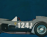 """The Ferrari 250 Testa Rossa is a racing car from the 50's and 60's of the Italian brand Ferrari. These cars were lord and master in their racing classes. Variants of this model won the 24 Hours of Le Mans in 1958, 1960 and 1961. They were closely related to the rest of the 250 series, especially the legendary 250 GTO.<br /> <br /> In total, only 34 Testa Rossa's were produced between 1956 and 1961. """"Testa Rossa"""" means """"red head"""", which refers to the red coloured cylinder heads. Of the best-known model, the 250 TR, only two factory and nineteen customer cars were built between '57 and '58. After the 250 GTO, the Testa Rossa is the most valuable Ferrari, with cars auctioned for more than six million euros[1]. The very first car (which competed in the 1958 Le Mans 24 Hours) was sold in 2011 for more than 11.4 million euros, a record price at the time for a Ferrari TR"""