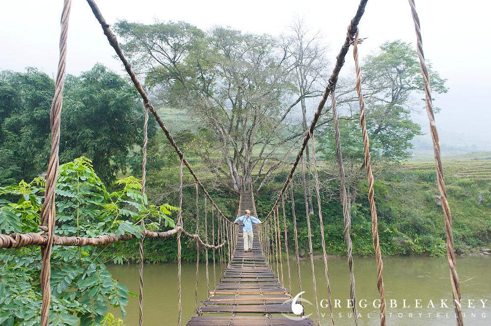 Vine Bridge Sapa - Northwest Vietnam
