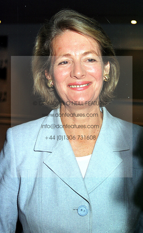BARONESS JAY leader of the House of Lords, at a party in London on 9th September 1999.MWD 2