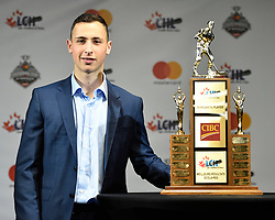 Sasha Chmelevski of the Ottawa 67's won the CIBC CHL Scholastic Player of the Year Award. Photo by Aaron Bell/CHL Images