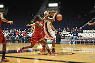 """Ole Miss vs. Lamar in women's college basketball at the C.M. """"Tad"""" Smith Coliseum in Oxford, Miss. on Monday, November 19, 2012.  Lamar won 85-71."""