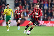 Harry Wilson (22) of AFC Bournemouth on the attack during the Premier League match between Bournemouth and Norwich City at the Vitality Stadium, Bournemouth, England on 19 October 2019.
