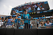 Panther fans stayed until the end in the New Orleans Saints 34 to 13 victory over the Carolina Panthers.