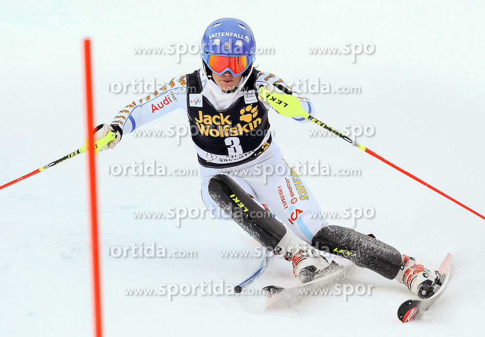 30.11.2014, Aspen Mountain Course, Aspen, USA, FIS Weltcup Ski Alpin, Aspen, Slalom, Damen, 1. Lauf, im Bild Maria Pietilae-Holmner (SWE) // Maria Pietilae-Holmner of Sweden in action during 1st run of ladies Slalom of FIS Ski Alpine Worldcup at the Aspen Mountain Course in Aspen, Canada on 2014/11/30. EXPA Pictures © 2014, PhotoCredit: EXPA/ Erich Spiess