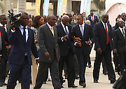 José Eduardo dos Santos, the president of the Republic of Angola and the MPLA number 1 candidate for the forthcoming general elections of August 31, during the inauguration of the rehabilitation of marginal bay of Luanda, today, August 28, the day of his 70th birthday