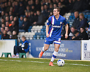 Gillingham forward Ben Dickenson during the Sky Bet League 1 match between Gillingham and Crewe Alexandra at the MEMS Priestfield Stadium, Gillingham, England on 12 March 2016. Photo by David Charbit.