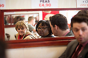 PPC Will Scobie with Dianne Abbott  in the Thanet South constituency, 17th April 2015