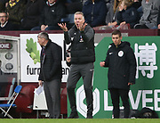 Peterborough United manager Darren Ferguson gestures during the The FA Cup match between Burnley and Peterborough United at Turf Moor, Burnley, England on 4 January 2020.