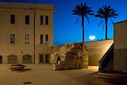 Sardinian architecture by night, Alghero July 11, 2017