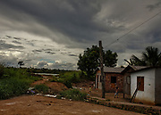 Brazil, Amazonas, rio Negro, mutirao de Cacau.