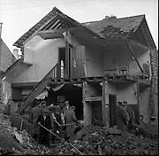 Gas Leak explosion in Dublin.22/11/1956