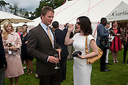 Rupert Penry Jones; Dervla Kirwan, Cartier International Polo Day at the Guards Polo Club. Windsor. July 26  2009