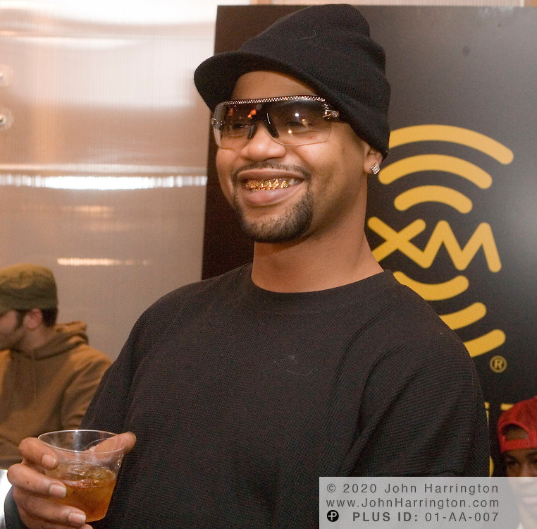 """Rap recording artist Juvenile during a listening party for his album """"Reality Check"""", January 24, 2006 at XM Satellite Radio studios in Washington DC. Reality Check, which was released March 7, soared to Number 1 on Billboard's Top 200 Chart, announced Wednesday, March 15, 2006."""