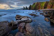 United Kingdon, Scotland, Rocks at Duncansby Head
