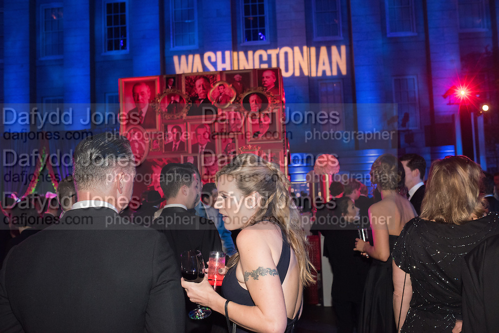 Washingtonian Inaugural Ball,  National'Portrait'Gallery'and'Smithsonian'American'Art' Museum<br />   Washington DC. 21 January 2017