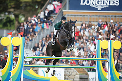 Johannpeter Karina, (BRA), Casper 150<br /> Furusiyya FEI Nations Cup presented by Longines<br /> Longines Jumping International de La Baule 2015<br /> © Hippo Foto - Dirk Caremans<br /> 15/05/15