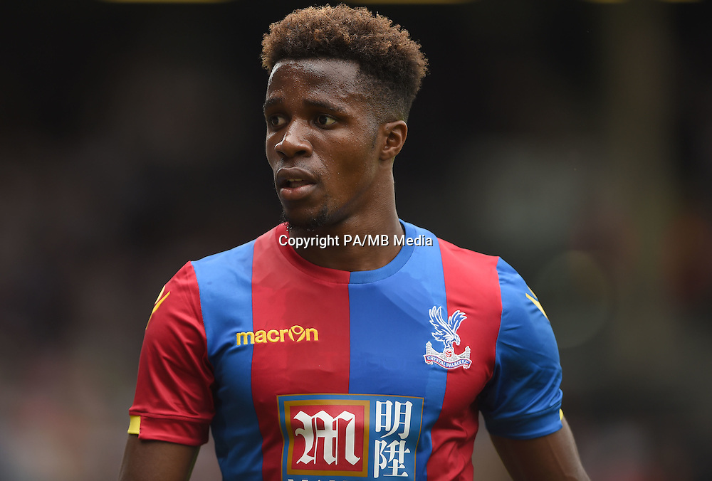 Crystal Palace's Wilfried Zaha during the Pre-Season Friendly match at Craven Cottage, London.