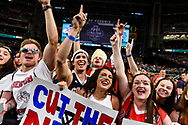 PHOENIX, AZ - APRIL 3:  The University of North Carolina takes on Gonzaga University during the NCAA Men's Final Four held at University of Phoenix Stadium on April 2, 2017 in Phoenix, Arizona. North Carolina defeated Gonzaga 71 to 65 to win the national title. (Photo by Brett Wilhelm/NCAA Photos via Getty Images)