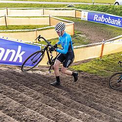 11-01-2020: Wielrennen: NK Veldrijden: Rucphen<br />Atse ten Brinke