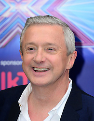 Image ©Licensed to i-Images Picture Agency. 27/08/2014. London, United Kingdom. Louis Walsh arriving for the launch of the new series of The X Factor. Picture by Nils Jorgensen / i-Images