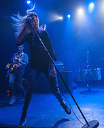 The Kills' Jamie Hince and Alison Mosshart perform at Observatory Orange County in Santa Ana, CA, April 19, 2016.