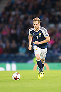 4th September 2017, Hampden Park, Glasgow, Scotland; World Cup Qualification, Group F; Scotland versus Malta; Scotland's Stuart Armstrong