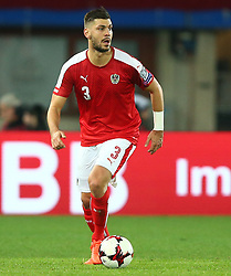 24.03.2017, Ernst Happel Stadion, Wien, AUT, FIFA WM 2018 Qualifikation, Oesterreich vs Moldawien, Gruppe D, im Bild Alexandar Dragovic (AUT) // during the FIFA World Cup 2018, group D qualifying match between Austria and Moldova at the Ernst Happel Stadion in Wien, Austria on 2017/03/24. EXPA Pictures © 2017, PhotoCredit: EXPA/ Thomas Haumer
