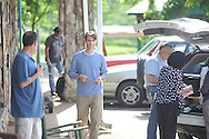 Actor Harry Lloyd at the filming of Big Significant Things at the Cedar Bucket near Oxford, Miss. on Thursday, May 9, 2013.